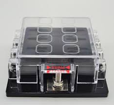 box housing picture more detailed picture about way circuit 8 way circuit car boat automotive auto blade fuse box block holder atc ato 12v 24v