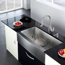 Kitchen Sink Kraus Stainless Steel 3588 X 2075 Farmhouse Kitchen Sink With