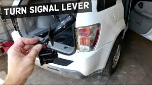 2008 Chevy Equinox Brake Light Replacement Chevrolet Equinox Turn Signal Headlight Lever Replacement Removal