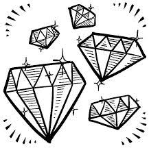 Small Picture Diamond and Gemstone Doodle Clip Art Jewelry Clipart by Nedti