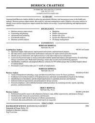 Business Analyst Resume Sample   Career DIY   Pinterest   Business ...