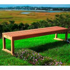 Small Picture Garden bench contemporary wooden EVANSTON KINGSLEY BATE