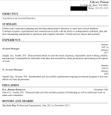 Sample Resume Builder Prepare for a Job Search with Resume Builder King County Library 71