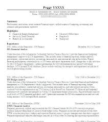 Financial Analyst Resume Sample Your Educational Qualifications