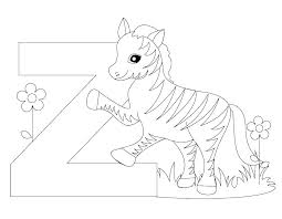 Free Alphabet Coloring Pages For Toddlers Printable Adults A Z