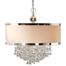 chandelier with drum shade amazing drum chandelier shades aluminum wrapping the edges and crystal ball chandelier drum lighting