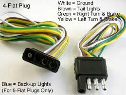 installing 4 pin trailer wiring 5 Wire Plug Diagram Chevy 350 Plug Wire Diagram