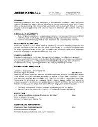 Job Objectives Resume Digiart