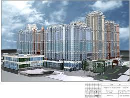 Готовые дипломные работы по строительству Скачать диплом по  ГС60 Проект строительства Торгового комплекса 2 эт с цоколем г С