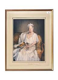 Sold Price: Mara McGregor 1982 - Royal autographed coloured - July ...
