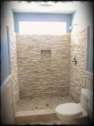 tile ideas inspire:  bathroom design rustic shower tile designs for small bathrooms ideas with stone wall and toilet also