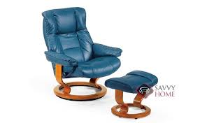 mayfair leather recliner and ottoman formerly kensington