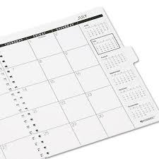 At A Glance Monthly Planner Refill 9 X 11 White 2021 7092371 Color
