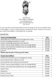 Amélie Bertrand Artiste Coiffeuse Et Maquilleuse 514 Pdf