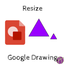 How to create blank lined journal pages using google slides. Google Drawing Resize Teacher Tech