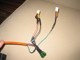 diy aux input cable for e bmw fox and hammer connectors clipped