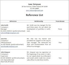 40references Section Of Resume Statement Letter Delectable How To Put References On A Resume