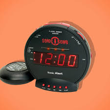 the sonic alarm clock the strategist reviews the best alarm clock for hopelessly heavy
