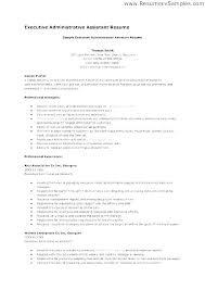 Executive Assistant Job Description Template