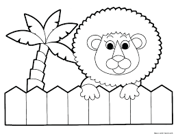 Baby Zoo Animal Coloring Pages X2917 Zoo Animal Coloring Sheets Kids