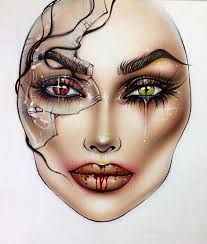 Pin By Melissabill Brett On Beautiful Face Charts Makeup
