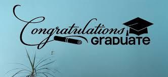 congratulations to graduate congratulations graduate vinyl sticker decal for graduation with