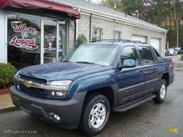 2005 Bermuda Blue Metallic Chevrolet Avalanche Z71 4x4 #7799924 ...