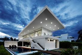 roof design ideas home decor gallery exterior outside preview huge sloping flat hodern awesome modern awesome white brown wood unique design cool