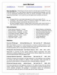 Simple Public Relations Manager Resume Bunch Ideas Of Well