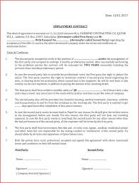 It Support Contract Template With Work Images Agreement
