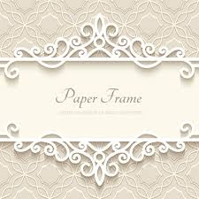 Paper Frames Templates Paper Frame With Beige Background Vector Free Vector In