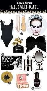 iconic hostess black swan halloween dance