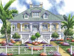 wrap around deck house plans homes floor