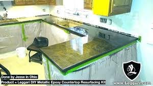 chen s metallic countertop kit diy resurfacing kits