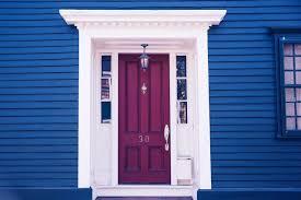 Exterior Door Colors. Excellent Hello Front Door Decal With ...