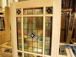 stained glass interior french doors stained glass interior vestibule door doors company in inspirations home exterior