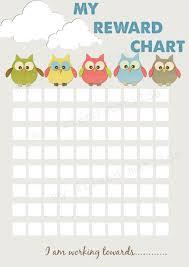 Sticker Reward Chart Pdf Hot Air Balloon Owl Reward Chart Chore Chart Printable