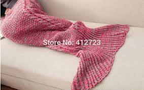Mermaid Tail Blanket Knitting Pattern Classy Crochet Mermaid Tail Blanket Adult Children Soft Warmer Sofa Blanket