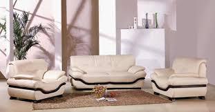modern leather sofa for living room