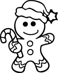 Coloring Pages Gingerbread Man House Fortnite Nailcaresinfo