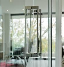 frameless glass door handle