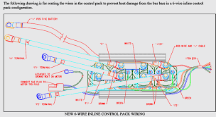 new 6 wire inline control pack wiring diagram winchserviceparts com new 6 wire inline control pack wiring diagram