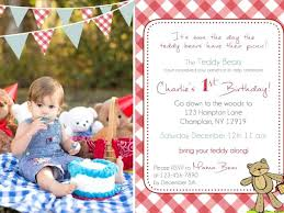 Teddy Bear Picnic Invitations Bears Invitation S – Trackpower