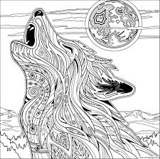 Majestic Wolf Coloring Pages Top 15 Free Printable Online For Adults