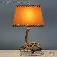 single antler lamp with deer shade luxury faux table lamps kids single antler lamp with deer shade luxury faux table lamps kids