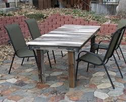 Diy Patio Furniture Diy Outdoor Table