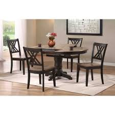 splendid dining room furniture faux stone legs high top extendable 6 seater round table medium brown