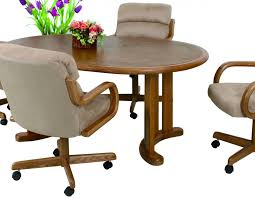 dinette sets chairs with casters. living room chairs with casters dinette sets