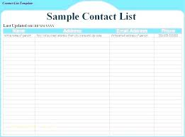 Phone Extension List Template Excel Office Phone List Template Directory X Contact Free