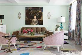 style your living room in mint hues